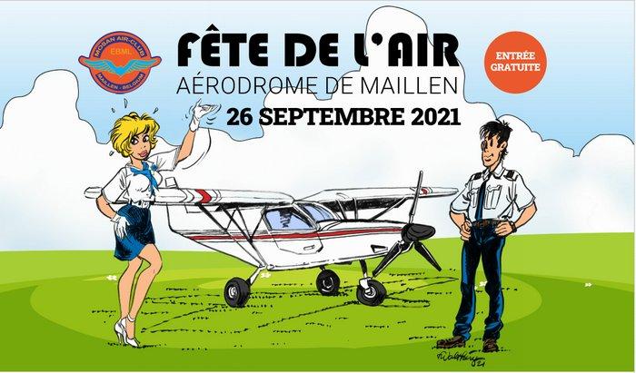 Fête de l'Air à l'aérodrome de Maillen le dimanche 26 septembre 2021
